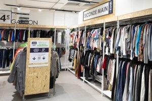 Tous les magasins auront un corner Seconde Main d'ici deux ans. - © Barbara Grossmann