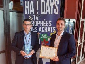 Pascal Thos et Alain Bernardeschi, médaillés d'or du Trophée des Achats en juin 2021 - © Manuel Abella