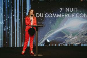 Anne-Laure Couplet, CEO Burton of London, juré et co-animatrice de la soirée. © Républik Retail