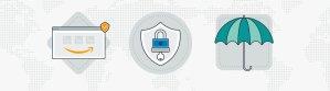 Amazon Pay offre sécurité et protection aux acheteurs. - © Amazon