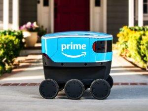 Amazon Scout est un projet de livraison par robot autonome. - © Amazon