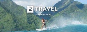Decathlon Travel commercialise des séjours sportifs durables et accessibles. - © Decathlon