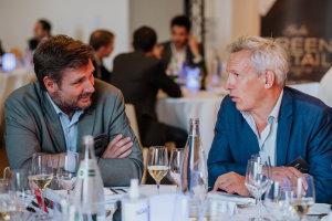 Cédric Ringenbach (La Fresque du Climat) et Olivier Godinot (Easyjet) © Républik Retail / Manuel Abella