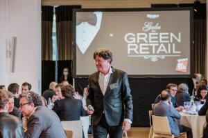 Marc Dumas anime le Gala Green Retail © Républik Retail / Manuel Abella