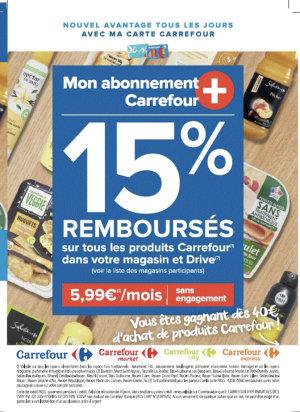 Présentation de Carrefour+ - © Carrefour