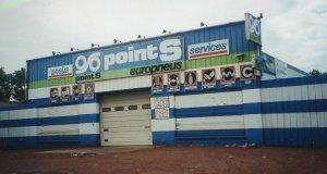 Centre Point S dans les années 1970
