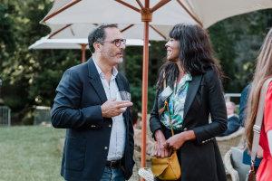 Axel Cano et Frédérique Grigolato (Saint-Maclou) © Républik Retail / Manuel Abella