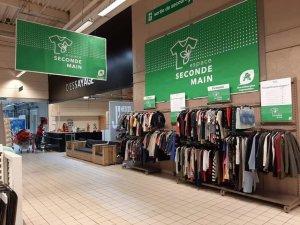 Auchan travaille avec Patatam pour expérimenter la seconde main.